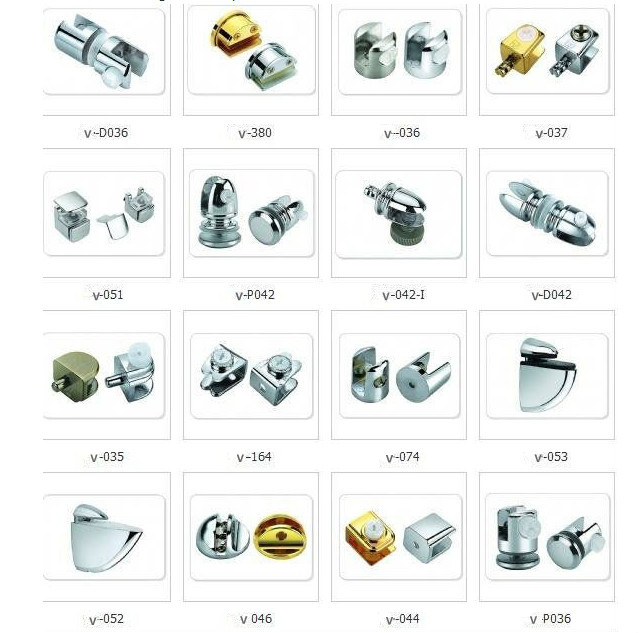 China Cabinet Glass Clips/furniture Glass Clip/cabinet Door ...