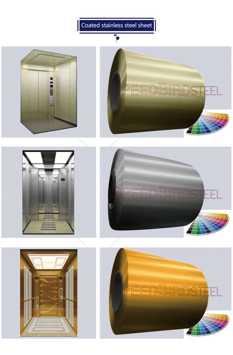 Hair Coloring Colored High Quality Stainless Steel Elevator Flooring ...
