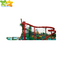 Swimming pool fiberglass water slides water park for prices