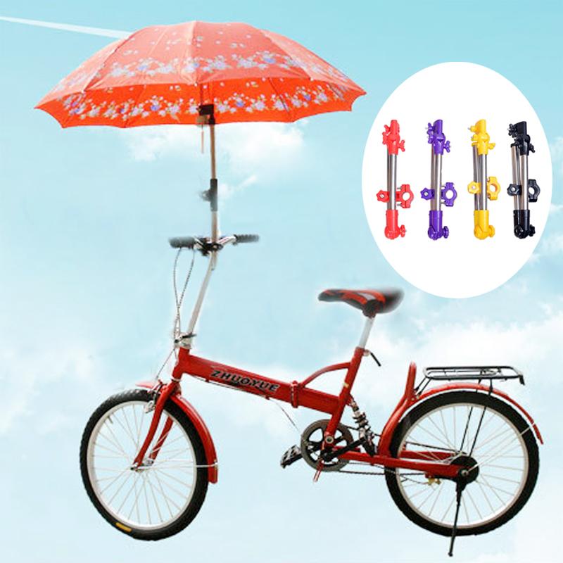 Зонтик Стоит Коляски Поворотный Кресло Велосипедов Зонтик Разъем Коляска Держатель Под Любым Углом