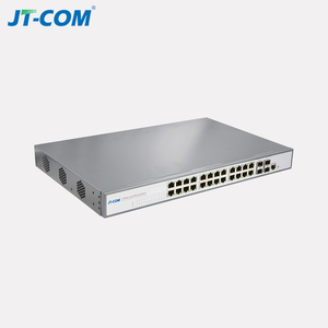 802.3at gigabit 24 port 2 SFP industrial poe switch for IP Camera poe