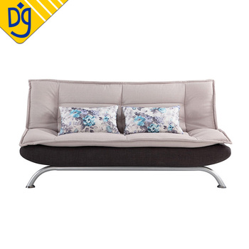 Hot Durable Metal Frame Fold Out Futon Click Clack Sofa Bed