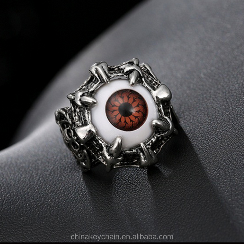 Cheap items to sell Turkey evil eye men's ring fashion metal finger ring for wholesale
