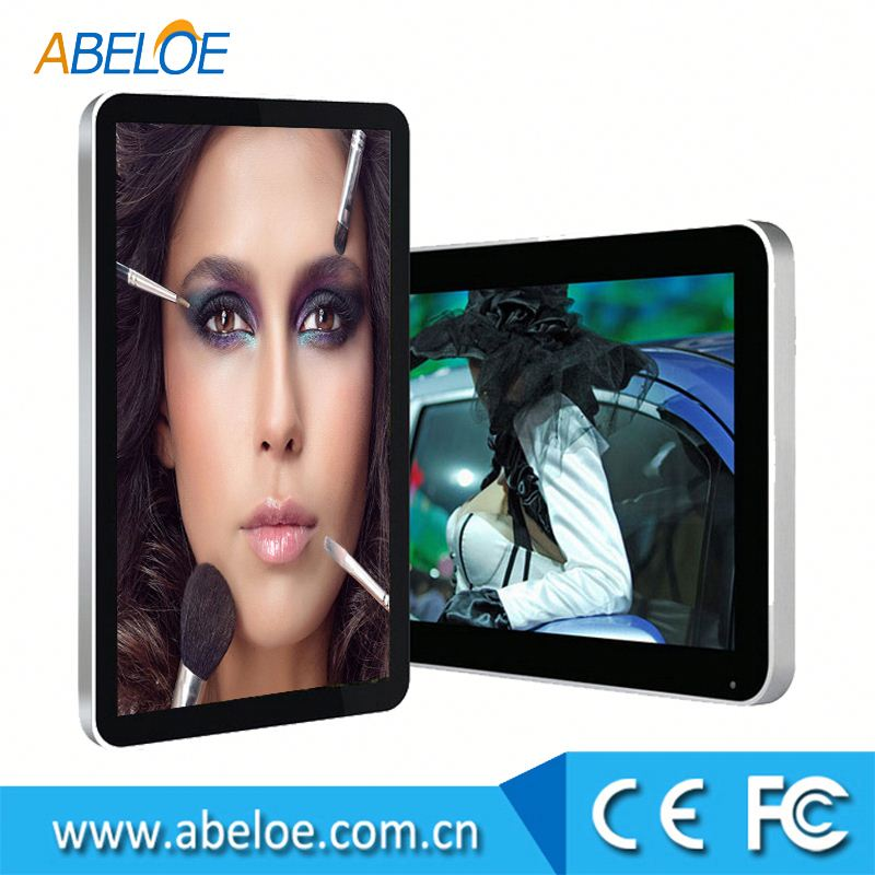 32 inch OEM LCD advertising video player,open frame full hd video display for advertising