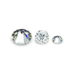 Synthetic 1 ct GH color round shape brilliant cut moissanite diamond