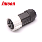 High current 5 pin 9 pin electrical male plug female socket IP67 waterproof connector