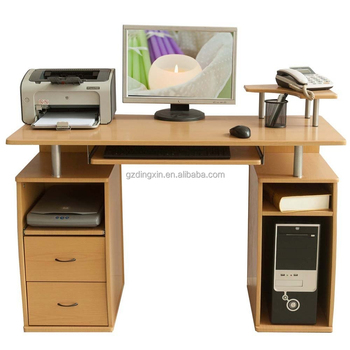 Computer Desk Assembly Instructions 2 Drawers With Printer Board In 2017  New Design