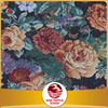 Shaoxing 70 poly 30 cotton upholstery jacquard floral design gobelin fabric