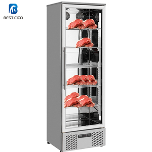 Stainless Steel 293L Dry Aging System, Commercial Refrigeration Catering Equipment ,Dry Aged Display DA-293FS