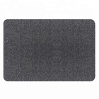 PVC back custom highly absorbent Microfiber blend non slip indoor doormat rugs carpet for hotel