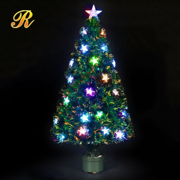 customized led fiber optic christmas tree - Mini Fiber Optic Christmas Tree