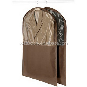 salesman nonwoven garment bag, canvas suit bags, 100% cotton suit bag
