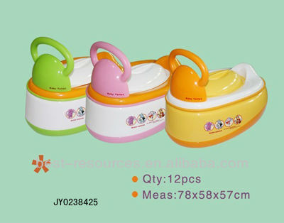 Portable Plastic Children Potty/Toilet