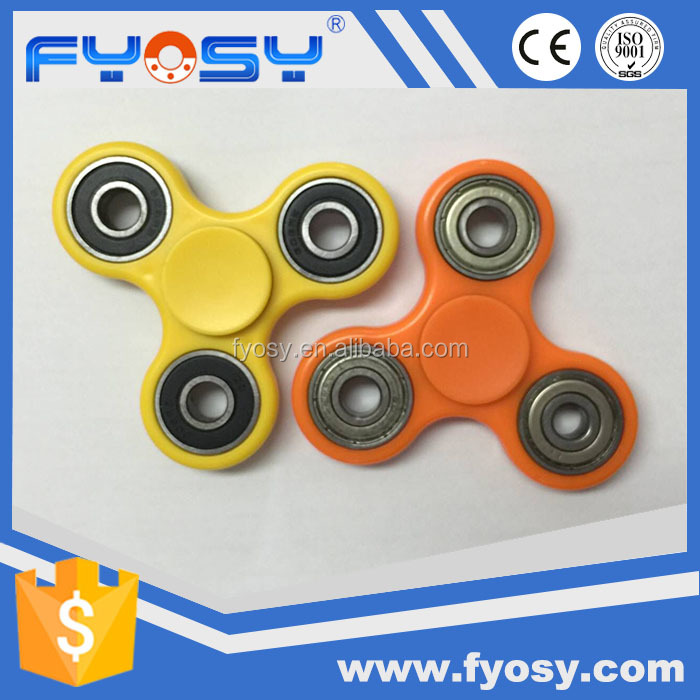 2017 crazy sale cheap price ABS + stainless steel hand finger spinner kit