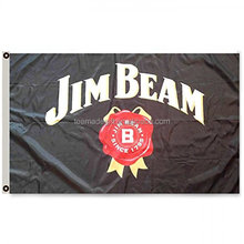 Promotie Jim Beam Vlag <span class=keywords><strong>Banner</strong></span> 3X5FT Bar Club Whiskey <span class=keywords><strong>Banner</strong></span>