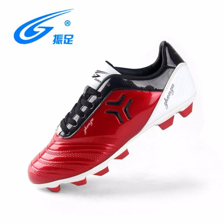 leather soccer cleats blue white feeling best football