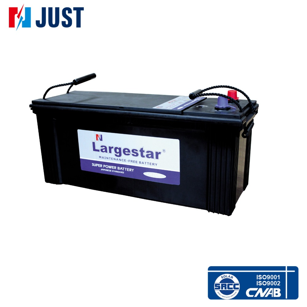 MF Car Starting JIS Standard Lead Acid 12V120Ah Automotive car battery