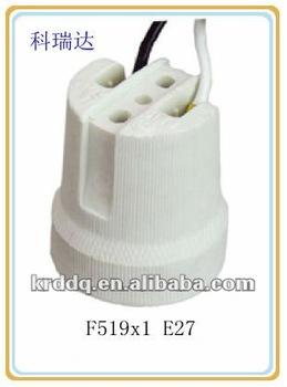 519 E27 Screw Shell Porcelain Lampholder