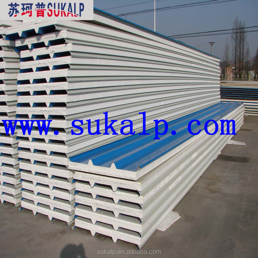 Eps concrete sandwich roof panel