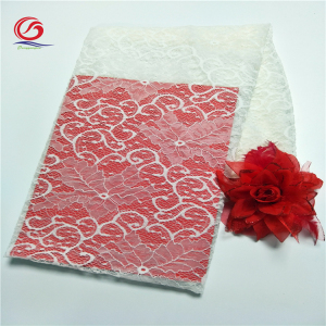 Changle DongGang Textile Nylon Spandex Lace Fabric for Dress