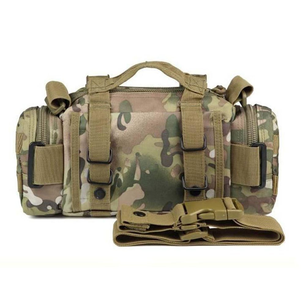 4df88815452c Hiking Military SWAT Molle Duffle Utility Hunting Outdoor Sport Shoulder  Waist Pack Pouch Tactical Bag