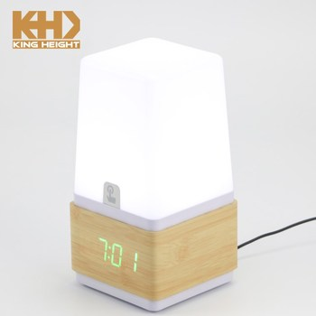 Lámpara Luz Tocar On Wc019 Rey Kh Altura Simple Reloj Lámpara Product Led Buy De Blanco Niños reloj Despertar LqRj35c4AS