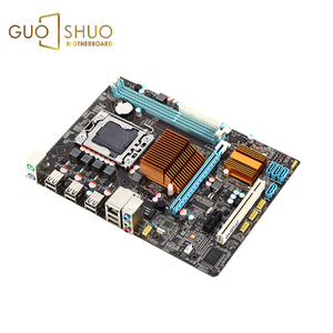 New Desktop Motherboard Computer Mainboard X58 Lga 1366 Ddr3 16gb Support 1600 Ram For Intel Xeon Quad Core 1366 Cpu