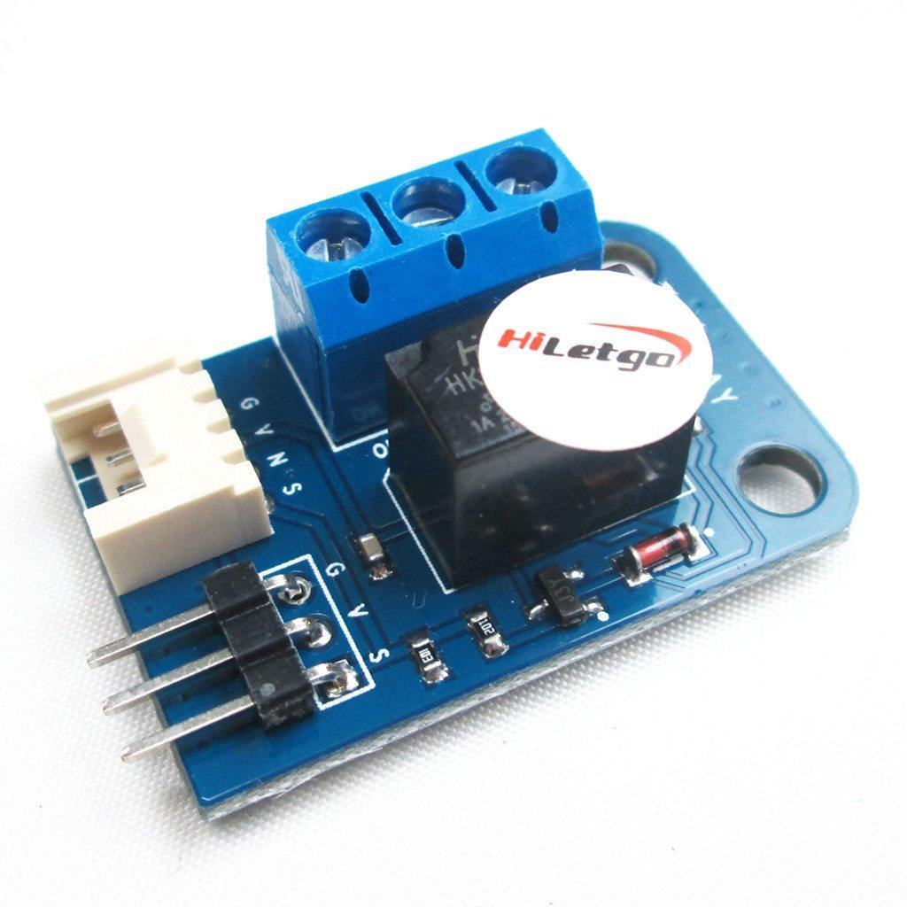 HiLetgo 5V One 1 Channel Relay Module Board 3Pin for Arduino UNO PIC AVR MCU DSP