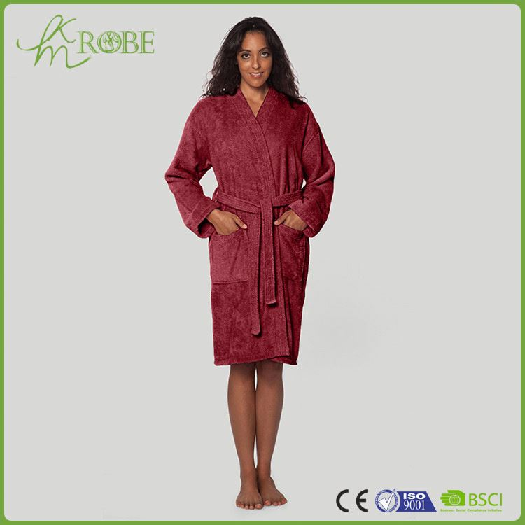 low price top quality velvet night gown manufacturer sale