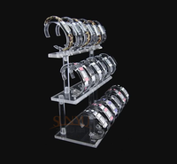 Pop High Quality Acrylic C Ring Watch Display Stand