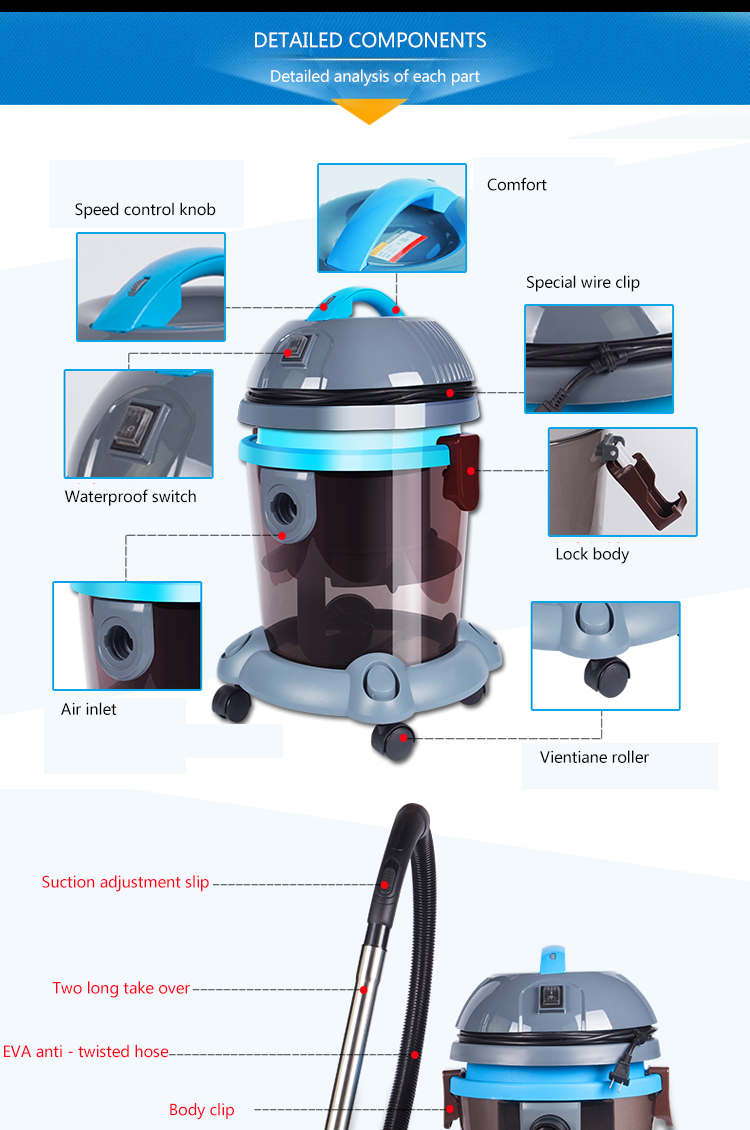 dropshipper water based water filter vacuum cleaner with water