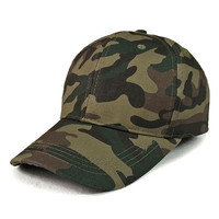 Fashion Baseball Cap Adjustable Outdoor Camo Tactical Military Cadet Cheap Camouflage Adjustable Baseball Caps Hats
