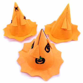 OEM Cheap Happy New Year Witch Hat Halloween Party Hat