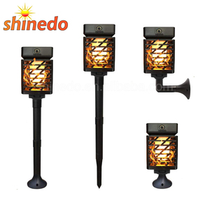 Wireless Solar Flickering Dancing Flames Lights for Garden Patio Deck Yard Driveway Pathway Decoration