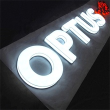 LED Licht Brief Aluminium Led Brief Lichten Elektronische Led Sign