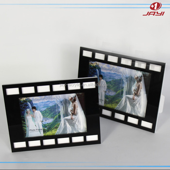 Custom 5x7 Plastic Square Clear Acrylic Magnetic Photo Frames 4x6 ...