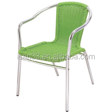 Patio Hotel water-proof outdoor aluminum wicker chairs for sale (DC-06202)