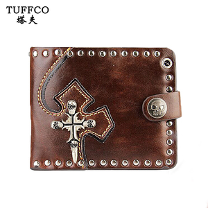 2018 Newest Men Soft Leather Bifold Card Wallet Fashion Purse Genuine Leather Men's Wallet