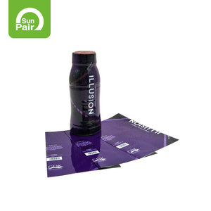 Factory Wrap Water Bottle Label Heat Shrink Sleeve