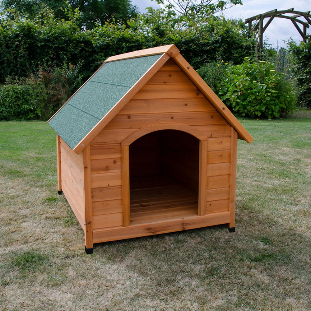 Large Lovely Custom outdoor indoor wooden dog houses