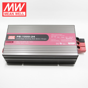 Meanwell PB-1000-24 1000W 24 Volt Charger For Lead-acid Battery and Li-ion Battery
