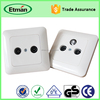 Newly Selling Electrical TV Satellite Wall Socket