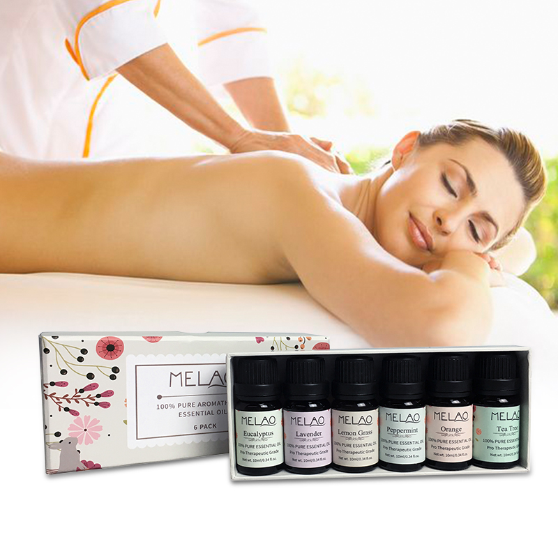 Hot Selling Massage Lavendel aromatherapie essentiële olie gift fles set