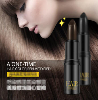Temporary Hair Color Pen Hair Dye provide Black and Brown color to Cover White hair