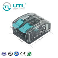 UTL China Heat Resistant Plug-In Quick Splice Terminal Block Connector