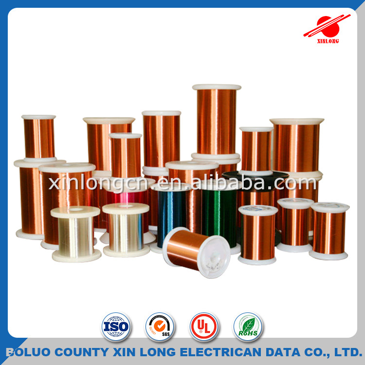 UL approved thick insulation polyurethane 2UEW aluminum magnet wire