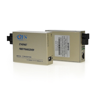 Dual fiber SM 10/100/1000M Gigabit Ethernet Fiber optic Media Converter