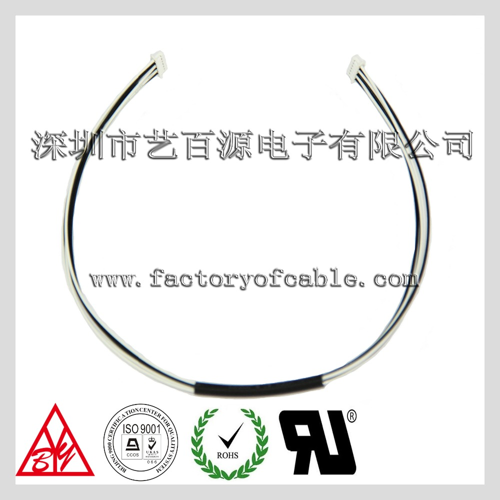 PTFE teflon coated electrical wire harness flat ribbon cable