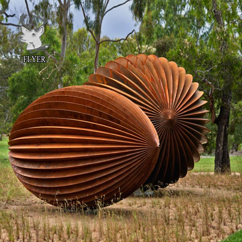 Flyer Sculpture Large Garden Corten Steel Sculpture For Sale Buy