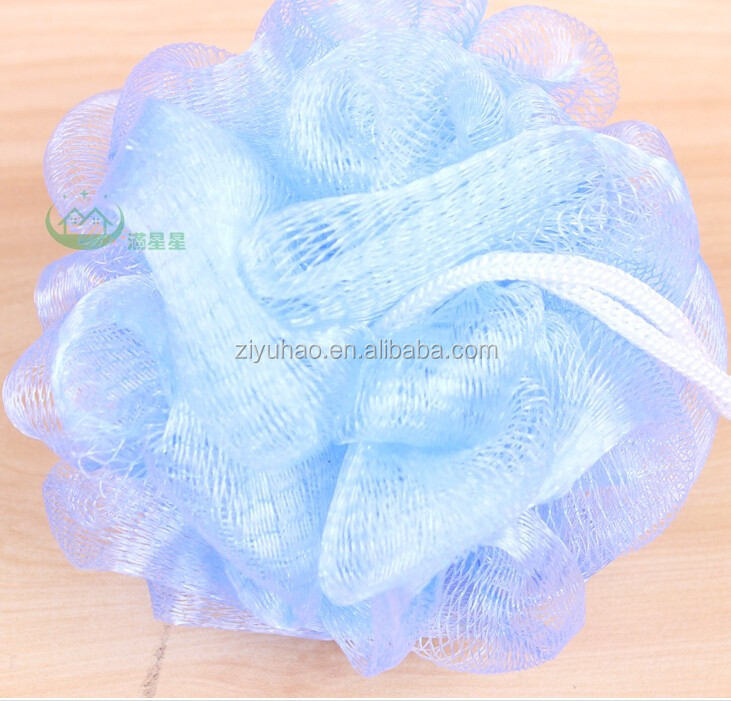 Super soft PE net bath mesh puff sponge